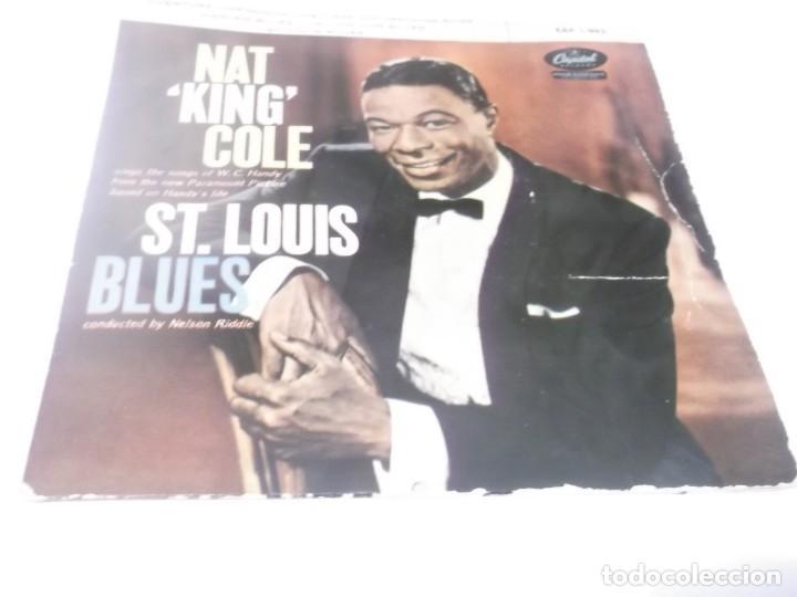 NAT KING COLE - ST. LOUIS BLUES - OVERURE + 3 EP 1959 (Música - Discos de Vinilo - EPs - Jazz, Jazz-Rock, Blues y R&B)