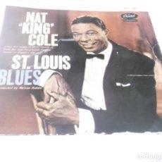 Discos de vinilo: NAT KING COLE - ST. LOUIS BLUES - OVERURE + 3 EP 1959. Lote 115134331