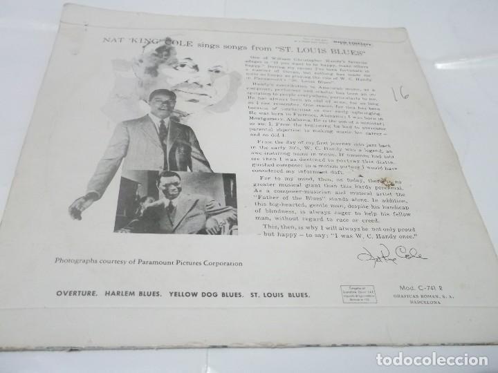 Discos de vinilo: NAT KING COLE - ST. LOUIS BLUES - OVERURE + 3 EP 1959 - Foto 2 - 115134331
