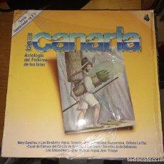 Discos de vinilo: ANTOLOGIA DEL FOLKLORE DE LAS ISLAS TIERRA CANARIA Nº 4. Lote 115134355