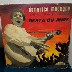 Discos de vinilo: DOMENICO MODUGNO 1959 RESTA CU MME. Lote 115135420