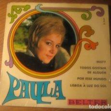 Discos de vinilo: PAULA - MISTY + 3 ********** RARO EP BELTER 1969, POP PORTUGUÉS!. Lote 115145763