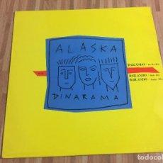 Discos de vinilo: ALASKA Y DINARAMA,,BAILANDO,,. Lote 115149551