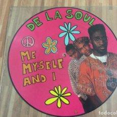 Discos de vinilo: DE LA SOUL,,ME MYSELF AND I,,PICTURES,,,LTD.. Lote 115149591