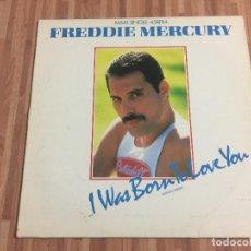 Discos de vinilo: FREDDIE MERCURY,,I WAS BORN TO LOVE YOU,,EXTENDED VERSION,,. Lote 115149619