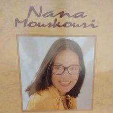 Discos de vinilo: MAXISINGLE (VINILO) DE NANA MOUSKOURI AÑOS 90. Lote 115160015
