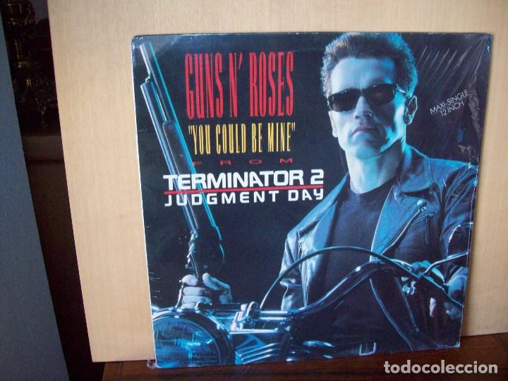 GUNS N' ROSES - YOU COULD BE MINE - TERMINATOR 2 JUDGMENT DAY - MAXI SINGLE (Música - Discos de Vinilo - Maxi Singles - Rock & Roll)