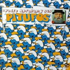 Discos de vinilo: PADRE ABRAHAM Y SUS PITUFOS (P. KARTNER). ADAPT: R. ARCUSA Y M. DE LA CALVA. LP. CARNABY, 1979. Lote 115174815