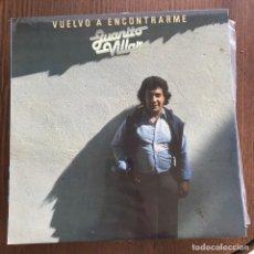 Discos de vinilo: JUANITO VILLAR - VUELVO A ENCONTRARME - LP MOVIEPLAY 1982. Lote 124726572