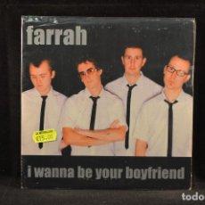 Discos de vinilo: FARRAH I WANNA BE YOUR BOYFRIEND +2 - EP. Lote 115176179