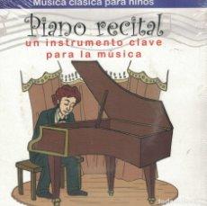Discos de vinilo: MUSICA CLASICA PARA NIÑOS - PIANO RECITAL-UN INSTRUMENTO CLAVE PARA LA MUSICA. Lote 115176535