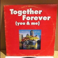 Discos de vinilo: TOGETHER FOREVER / THE ULTIMATE SEDUCTION / MAXI-SG / GET ON DANCE - 1995 / MBC. ***/***. Lote 115178415
