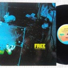 Discos de vinilo: FREE - '' TONS OF SOBS '' LP REISSUE UK 19?? NOT GATEFOLD. Lote 115179411