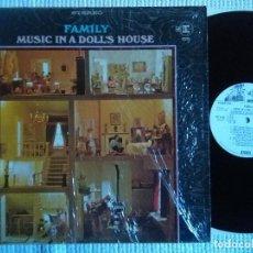 Discos de vinilo: FAMILY - '' MUSIC IN A DOLL'S HOUSE '' LP ORIGINAL PROMO USA 1968. Lote 115180139