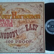Discos de vinilo: THE FOUR HORSEMEN ‎– '' NOBODY SAID IT WAS EASY '' LP 1991 EU. Lote 115182179