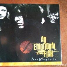 Discos de vinilo: AN EMOTIONAL FISH - LACE VIRGINIA (SG) 1990. Lote 115182935