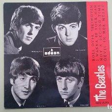 Discos de vinilo: THE BEATLES - EP SPAIN PS - ROLL OVER BEETHOVEN - DSOE 16.579 // 7TSO 1689 - AÑO 1964. RARA EDICIÓN. Lote 115183639