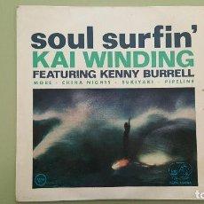 Discos de vinilo: EP KAI WINDING: SOUL SURFIN´: MORE + CHINA NIGHTS + PIPELINE + SUKIYAKI. AÑO 1963.. Lote 115185079