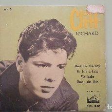 Discos de vinilo: CLIFF RICHARD, LIVING DOLL, LA VOZ DE SU AMO, 7EPL-13415. AÑO 1960.. Lote 115185619