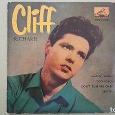 Discos de vinilo: CLIFF RICHARD, DON´T BUG ME BABY , 7EPL-13400. AÑOS 60.. Lote 115186359