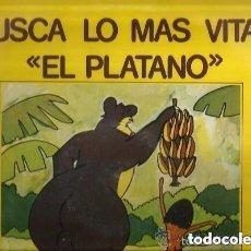 Discos de vinilo: YOLANDA VENTURA & ENRIQUE AGUIRRE - BUSCA LA MAS VITAL, EL PLATANO - LP OLYMPO SPAIN 1978. Lote 115187411