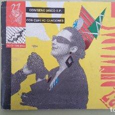Discos de vinilo: 27 PUÑALADAS / FANZINE CON E. P. / Nº 3 1986 SOCIEDAD FONOGRÁFICA.. Lote 115189755