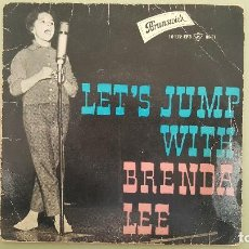 Discos de vinilo: EP-BRENDA LEE-BRUNSWICK 10172-ED.ESPAÑOLA.. Lote 115190143
