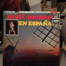 Discos de vinilo: MATT MONRO EN ESPAÑA NUMERO 2 CANTADO EN ESPAÑOL JEAN, THE SHADOW OF YOUR SMILE + 10 PROMO. Lote 115190263