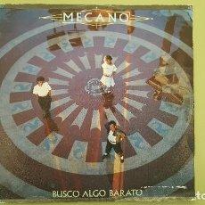 Discos de vinilo: MECANO – BUSCO ALGO BARATO / AIRE – SG SPAIN 1984 – CBS A-4700.. Lote 115190387