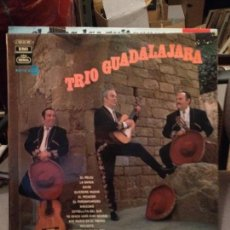 Discos de vinilo: TRIO GUADALAJARA EMI REGAL ED. ESPAÑA PROMOCIONAL 1970 RELOJ, LA BARCA, ANSIEDAD,ADIOS,PORROMPOMPERO. Lote 115190519
