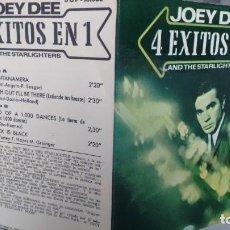 Discos de vinilo: E P ( VINILO) DE JOEY DEE AND THE STARLIGHTERS -4 EXITOS EN 1) AÑOS 60. Lote 115192259