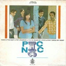 Discos de vinilo: JEANETTE, PIC-NIC, CANTA EN INGLES, EP 1968. Lote 115193543