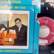 Discos de vinilo: E P (VINILO) DE HERMANOS ANOZ AÑOS 60. Lote 115193695