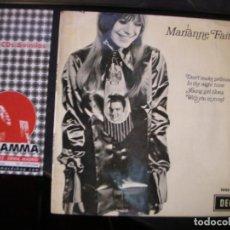Discos de vinilo: MARIANNE FAITHFULL- EP. Lote 115197719