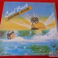 Discos de vinilo: (XM)DISCO-SUNSHINE REGGAE(LAID BLACK)-SUPERSINGLE EDICIÓN 1983.. Lote 115201683