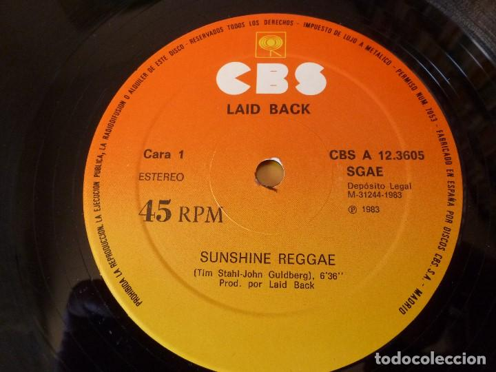Discos de vinilo: (XM)DISCO-SUNSHINE REGGAE(LAID BLACK)-SUPERSINGLE EDICIÓN 1983. - Foto 4 - 115201683