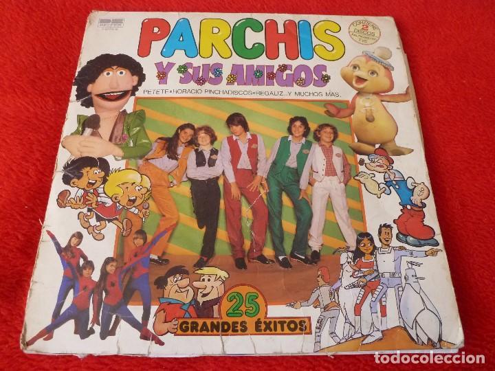 (XM)DISCO-PARCHIS Y SUS AMIGOS-DOBLE L.P. EDICIÓN 1981 (Música - Discos - LPs Vinilo - Música Infantil)