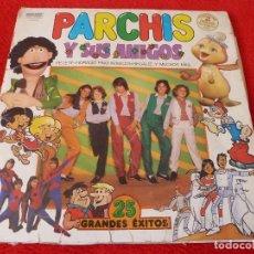Discos de vinilo: (XM)DISCO-PARCHIS Y SUS AMIGOS-DOBLE L.P. EDICIÓN 1981. Lote 115202263