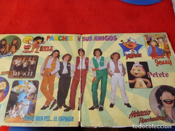 Discos de vinilo: (XM)DISCO-PARCHIS Y SUS AMIGOS-DOBLE L.P. EDICIÓN 1981 - Foto 2 - 115202263