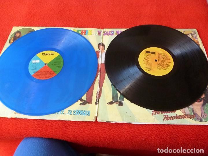 Discos de vinilo: (XM)DISCO-PARCHIS Y SUS AMIGOS-DOBLE L.P. EDICIÓN 1981 - Foto 3 - 115202263