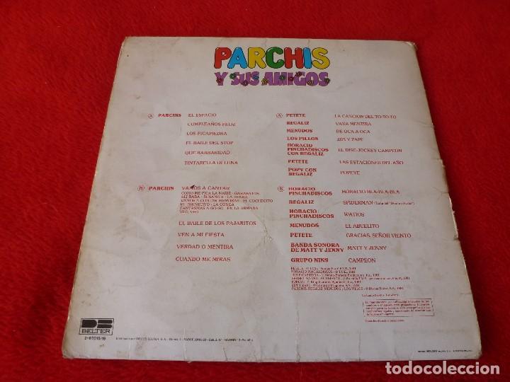 Discos de vinilo: (XM)DISCO-PARCHIS Y SUS AMIGOS-DOBLE L.P. EDICIÓN 1981 - Foto 6 - 115202263