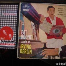 Discos de vinilo: PAT BOONE CANTA A IRVING BERLIN- EP. Lote 115204415