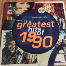 Discos de vinilo: LAS MEJORES CANCIONES DE 1990. Lote 115205043