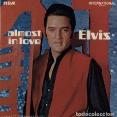 Disques de vinyle: ELVIS PRESLEY - ALMOST IN LOVE 1970 (LP) !! COLLECTORS !! RARA ORG UK RCA, TODO EXC. Lote 112552991