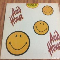 Discos de vinilo: ACID HOUSE,,CON POSTER,,. Lote 115207595