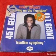 Discos de vinilo: (XM)-DISCO-EDDI GRANT(LIVING ON THE FRONTLINE--IMPORT USA. Lote 115212755
