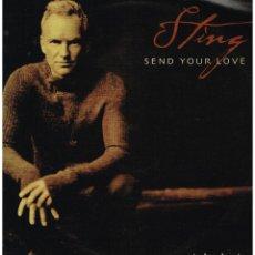 Discos de vinilo: STING - SEND YOUR LOVE (4 VERSIONES) - MAXISINGLE 2003 - ED. ITALIA. Lote 115218243