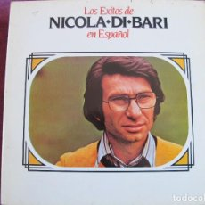 Discos de vinilo: LP - NICOLA DI BARI - LOS EXITOS EN ESPAÑOL (SPAIN, RCA RECORDS 1984). Lote 115223495