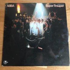 Discos de vinilo: ABBA SUPER TROUPER. Lote 115223986