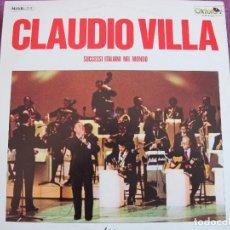 Discos de vinilo: LP - CLAUDIO VILLA - SUCCESSI ITALIANI NEL MONDO (ITALY, OXFORD RECORDS 1979). Lote 115225931
